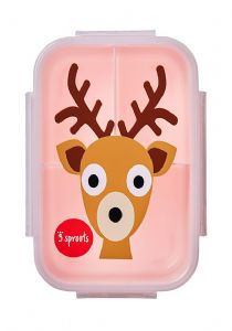 3 Sprouts Lunch (Bento) Box - Deer